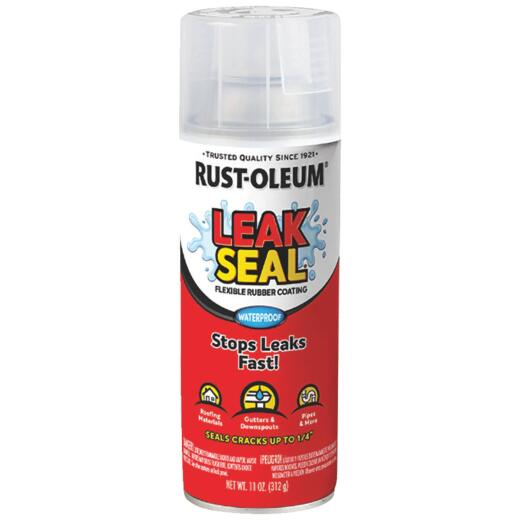 Rust-Oleum LeakSeal 12 Oz. Flexible Rubber Coating, Clear