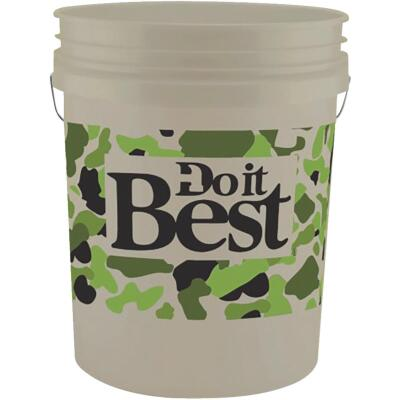 Do it Best 5 Gal. Pail with Camo Logo