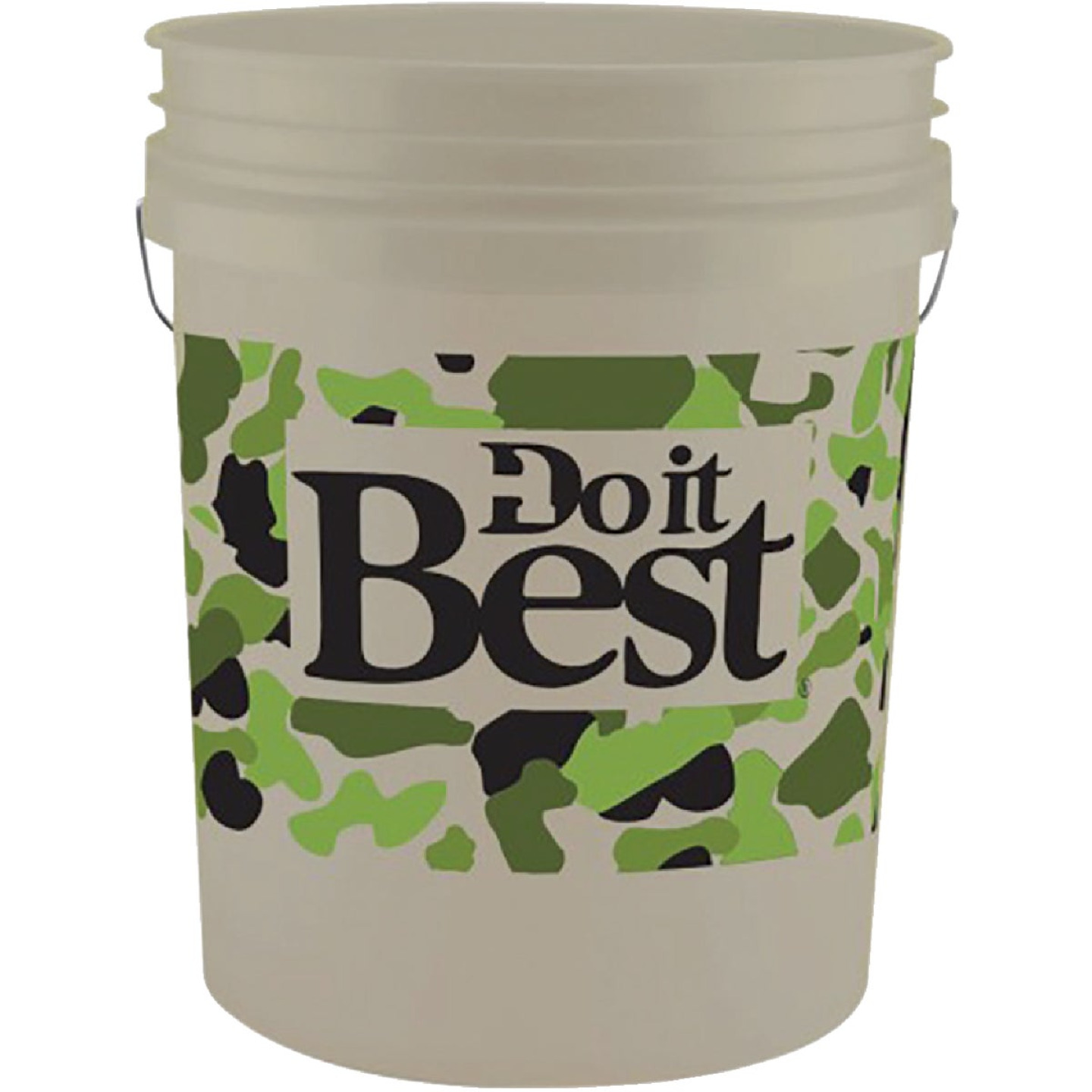 Do it Best 5 Gal. Pail with Camo Logo Image 1