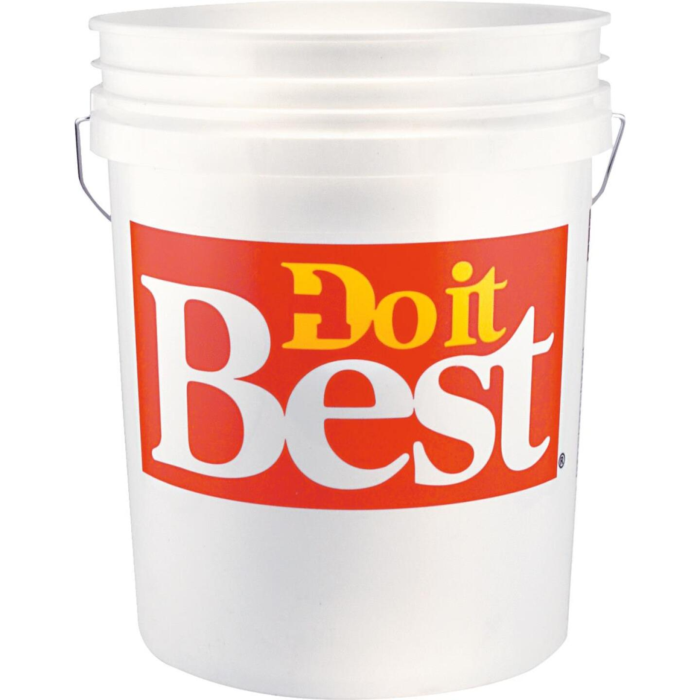 Do it Best 5 Gal. Pail with Red Logo Image 1