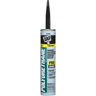 DAP 10.1 Oz. Premium Polyurethane Construction Adhesive Sealant, Black