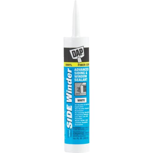 DAP Side Winder 10.1 Oz. Advanced Siding & Window Polymer Sealant, White