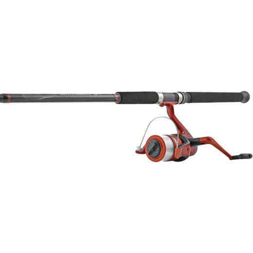 Competitor 7 Ft. Fiberglass Fishing Rod & Spinning Reel