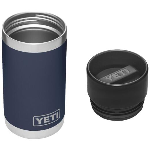 Yeti Rambler 12 Oz. Navy Blue Stainless Steel Insulated Vacuum Bottle with Hot Shot Cap