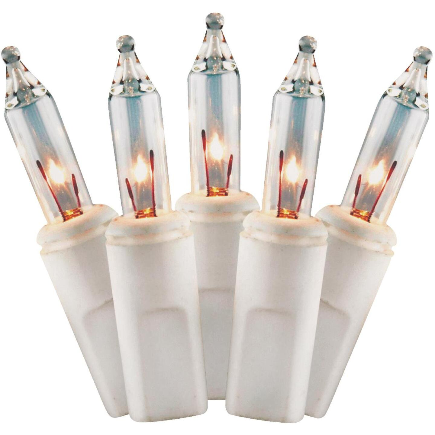 J Hofert Clear 300-Bulb Mini Incandescent Flashing Icicle Light Set with White Wire Image 8