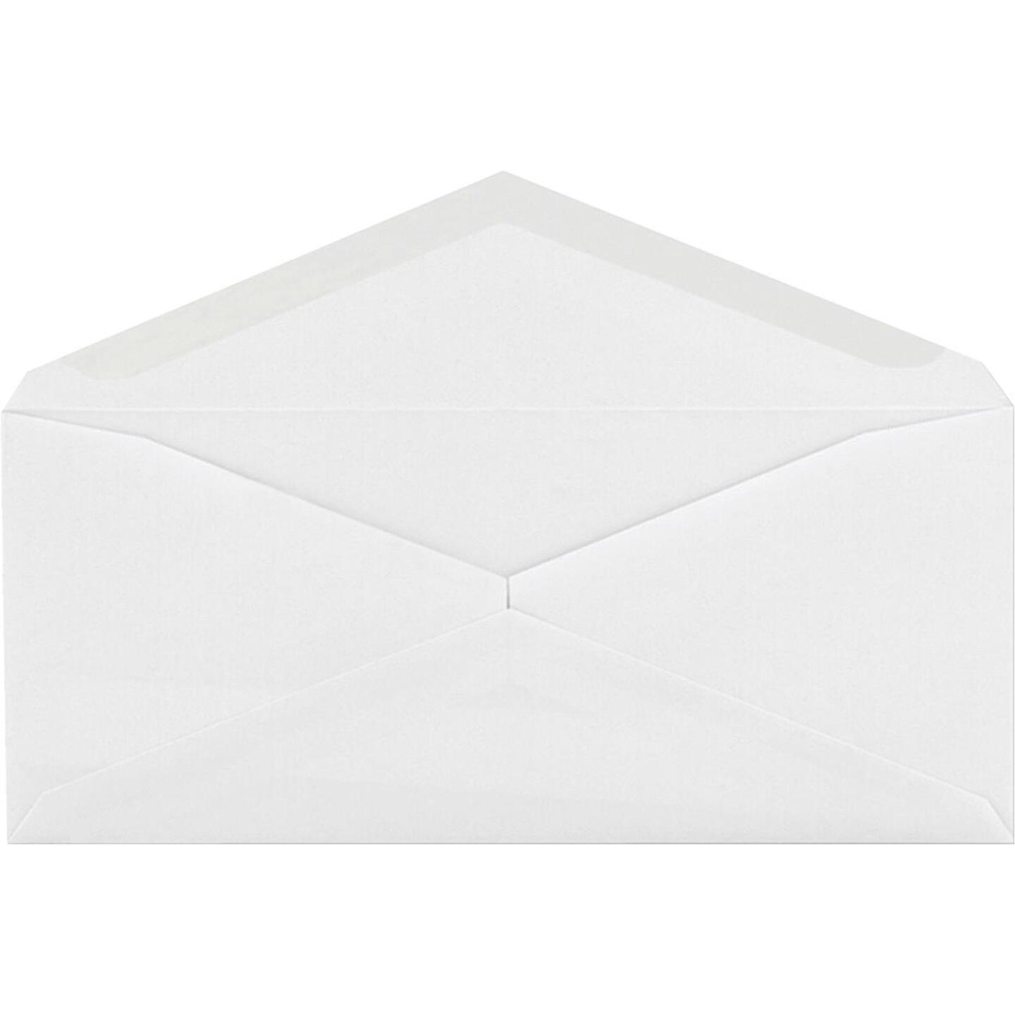 Quality Park Columbian No. 10 4-1/8 In. x 9-1/2 In. White Envelopes (100-Pack) Image 1